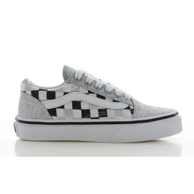 Vans Old Skool Glitter/Checkerboard en productafbeelding