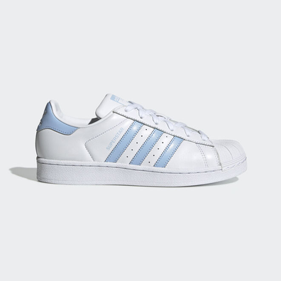 adidas Superstar W Ftw White/ Glow Blue/ Core Black productafbeelding