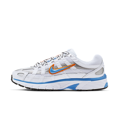 Damen Sneaker P 6000 White Blue Orange productafbeelding