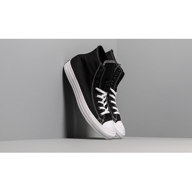 Converse Chuck Taylor All Star Hi Black/ Enamel Red/ White productafbeelding