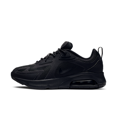 Nike WMNS Air Max 200 'Triple Black' productafbeelding