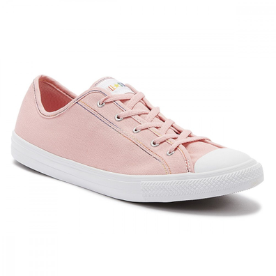Converse Chuck Taylor All Star Dainty Womens Coastal Pink Ox Trainers productafbeelding