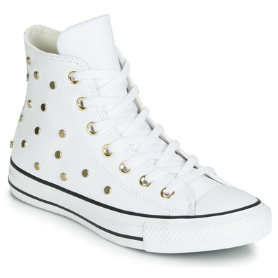 Converse CHUCK TAYLOR ALL STAR LEATHER STUDS HI productafbeelding
