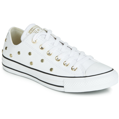 Converse CHUCK TAYLOR ALL STAR LEATHER STUDS OX productafbeelding