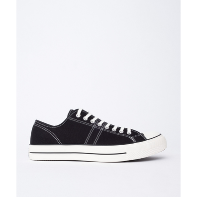 Converse Lucky Star OX (Black) productafbeelding