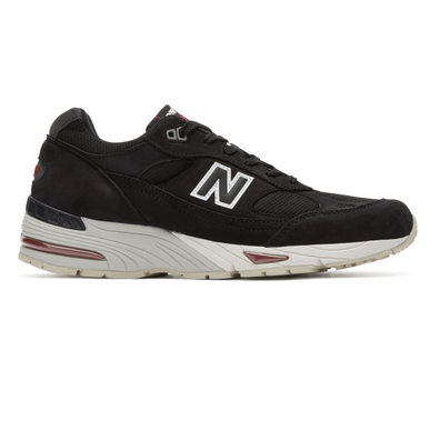 New Balance M991NKR *Made in England* (Black / Red) productafbeelding