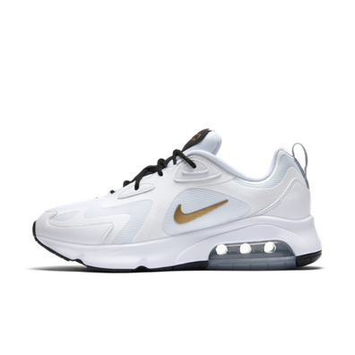 Nike Air Max 200 'White/Gold' productafbeelding