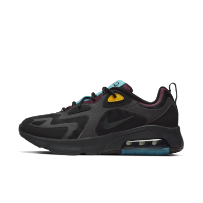 Nike WMNS Air Max 200 'Black' productafbeelding