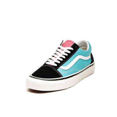 Vans Old Skool 36 DX *Anaheim Factory* (OG Black / OG Aqua) productafbeelding