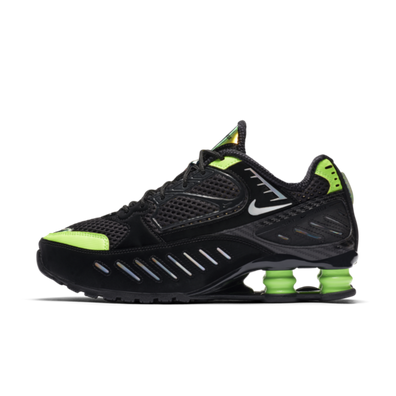 Nike W Shox Enigma SP 'Black & Lime' productafbeelding