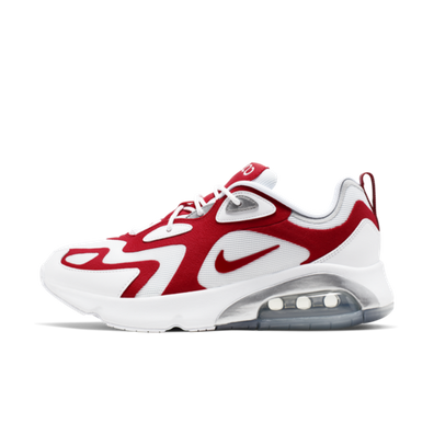 Nike Air Max 200 'White & Red' productafbeelding