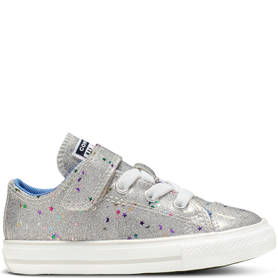 Chuck Taylor All Star Galaxy Glimmer Hook and Loop Low Top productafbeelding