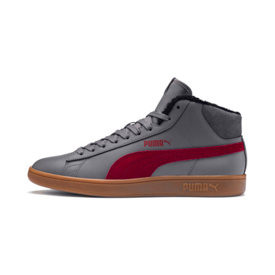 Puma Smash V2 Mid Winterized Leather High Tops productafbeelding