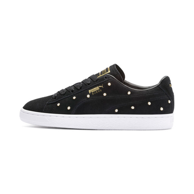 Puma Pearl Studs Suede Womens Trainers productafbeelding