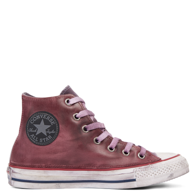 Chuck Taylor All Star Premium Vintage Leather High Top productafbeelding