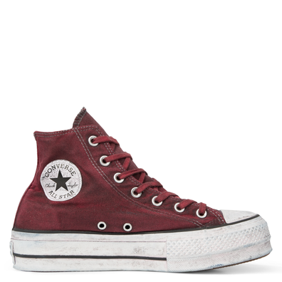 Chuck Taylor All Star Canvas Rust Platform High Top productafbeelding