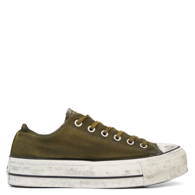 Chuck Taylor All Star Canvas Rust Platform Low Top productafbeelding