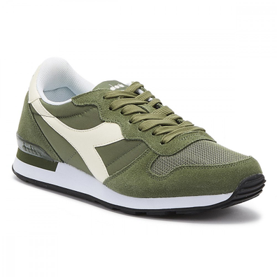 Diadora Camaro Mens Olive / Whisper White Trainers productafbeelding