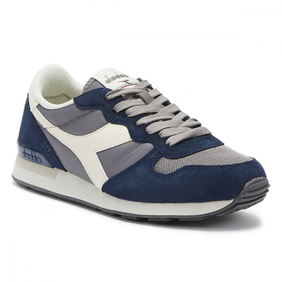 Diadora Camaro Mens Grey / Blue Trainers productafbeelding