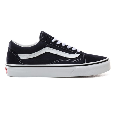 Vans Old Skool Mens Navy / White Trainers productafbeelding