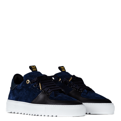 Mason Garments Roma Classic Suede Navy-47 productafbeelding