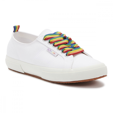 Superga 2750 Cotw Rainbow Pop Womens White Trainers productafbeelding