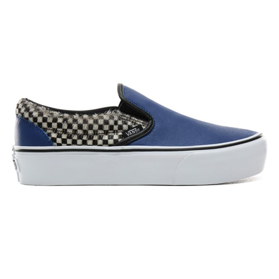VANS Python Check Classic Slip-on Platform productafbeelding