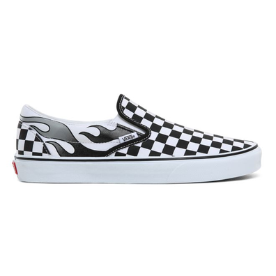 VANS Checkerboard Flame Classic Slip-on  productafbeelding