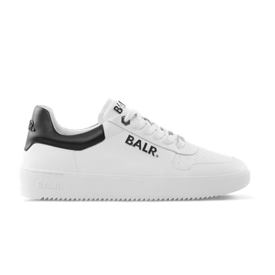 BALR. Leather Clean Logo Sneakers Low White productafbeelding
