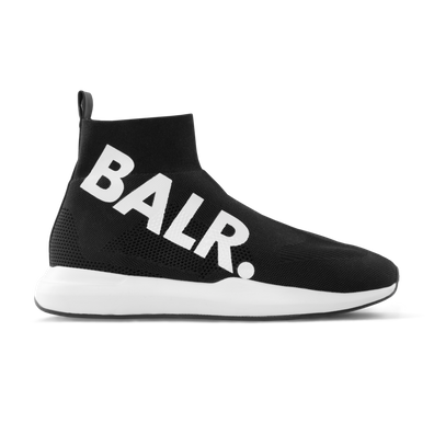 BALR. EE Premium Sock Sneakers Big Brand Black productafbeelding