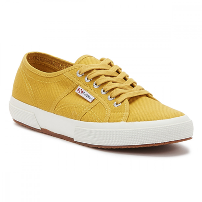 Superga 2750 Cotu Classic Womens Yellow Senape Trainers productafbeelding