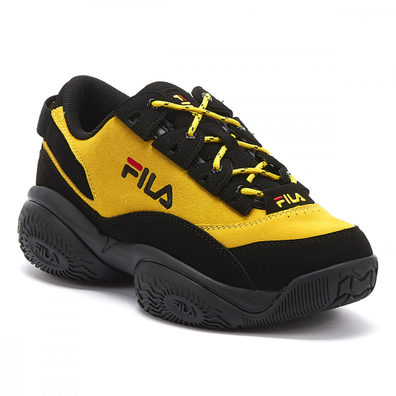 Fila Provenance Mens Yellow / Black Trainers productafbeelding