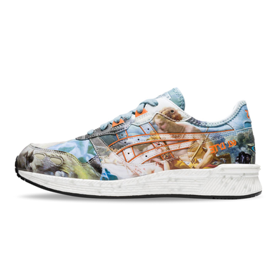 Asics x Vivienne Westwood Hyper Gel Lyte Light Steek / Citrus productafbeelding