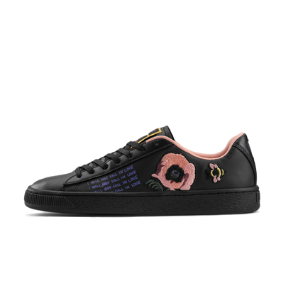 Sue Tsai X Puma Basket 'Black Rose' productafbeelding