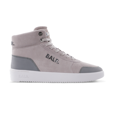 BALR. Leather Original Brand Sneakers High Beige - Beige productafbeelding