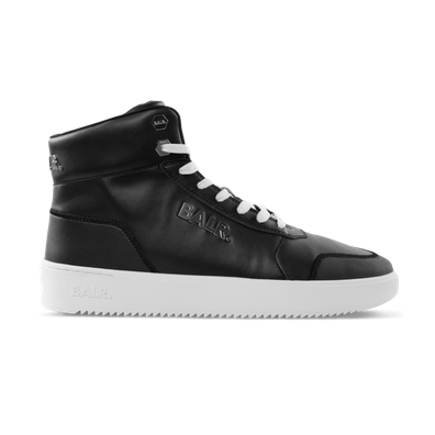 BALR. Leather Original Brand Sneakers High Black productafbeelding