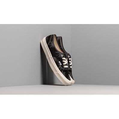 Vans OG Authentic LX (Canvas/ Island Leaf) Black Raven productafbeelding