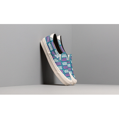 Vans OG Slip-On 59 LX (Canvas) Larkspur/ Logo Checkerboard productafbeelding