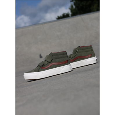 Vans Sk8-mid reissue Deep/Green PS productafbeelding