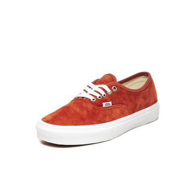 Vans Authentic *Pig Suede* (Burnt Brick / True White) productafbeelding