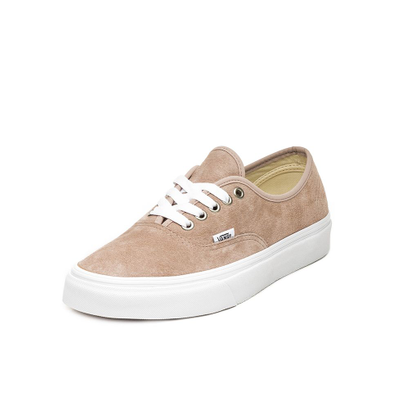 Vans Authentic *Pig Suede* (Shadow Grey / True White) productafbeelding