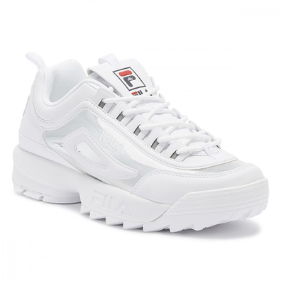 Fila Disruptor II Clear Womens White Trainers productafbeelding