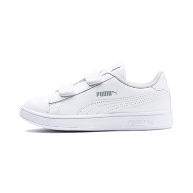 Puma Smash V2 Leather Kids Trainers productafbeelding