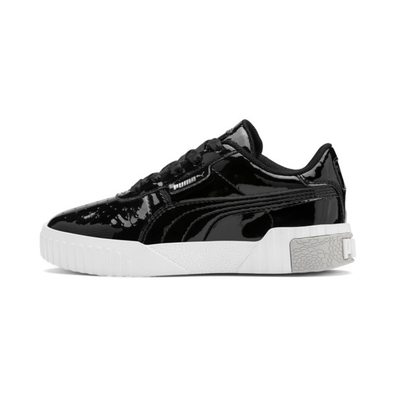 Puma Cali Patent Kids Trainers productafbeelding