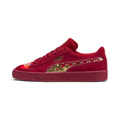 Puma Sesame Street 50 Suede Statement Youth Trainers productafbeelding