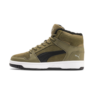 Puma Rebound Lay Up Fur Sd Youth Trainers productafbeelding