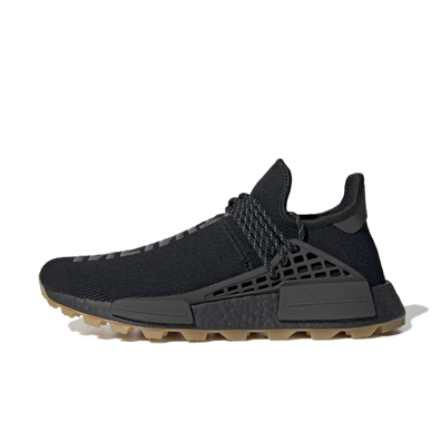 Pharrell Williams x adidas NMD Hu Trail 'Core Black' productafbeelding