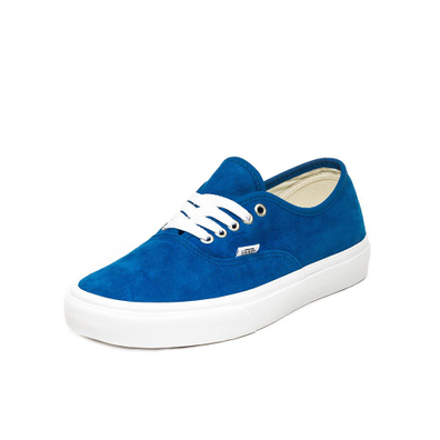 Vans Authentic *Pig Suede* (Princess Blue / True White) productafbeelding