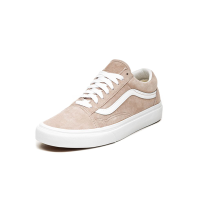 Vans Old Skool *Pig Suede* (Shadow Grey / True White) productafbeelding