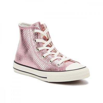 Converse Chuck Taylor All Star Youth Plum Purple Hi Trainers productafbeelding
